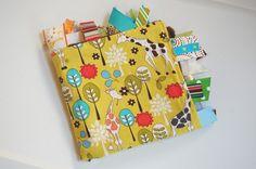Baby Blanket for Girl or Boy Giraffe Garden Tag by ThePoshTots