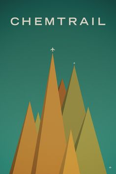 love the beautiful simplicity of Paul Tebbott's work...love the unexpected planes soaring off the top of the mountains...