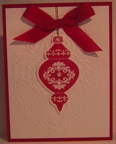Ornament by woodknot - Cards and Paper Crafts at Splitcoaststampers
