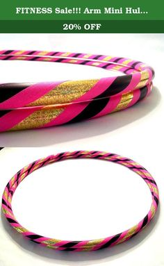 """FITNESS Sale!!! Arm Mini Hula Hoop Pair Queen. DIRECT FROM THE MANUFACTURER. Featuring the original manufacturer of the """"BREAK AWAY"""" the newest innovation in hula hooping. Paradise Hoops is formally the manufacturer for about 90% of Hoopnotica's handmade hula hoops. We have the BEST QUALITY BEST PRICE. This """"BREAK AWAY"""" hula hoop was created by Janou Lightning former team leader of Hoopnotica. She took her expertise in the hooping industry and made a hoop that is easy to break down to..."""