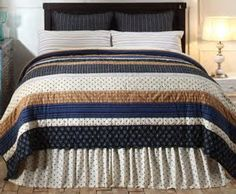 VHC Brands, Inc. - ONLY ONE AVAILABLE! Seapoint King Quilt Bundle #