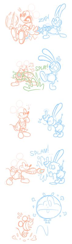 Epic Mickey Doodles