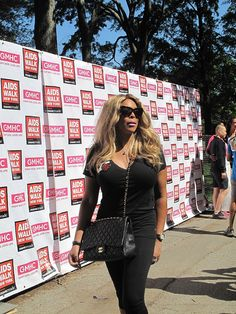 Wendy Williams at the 27th Annual AIDS Walk New York on May 20, 2012.