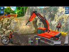 Heavy Excavator Simulator 2020: 3D Excavator Games - Android Gameplay - YouTube