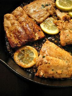 Sweet, garlicky, and slightly spicy Honey Garlic Salmon, quickly marinated in honey and lemon juice, and ready in less than 30 minutes!