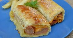 Turn Your Ordinary Hotdog Into A Gourmet Pastry Puff Using 4 Ingredients. YES!