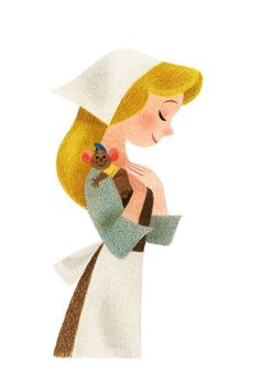 Genevieve Godbout illustration #guslovescinderella #disney