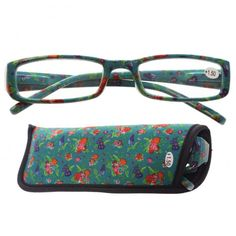#Brýle na čtení #BotanicalGarden od Lauren Billingham. Různé barvy a různé dioptrie.Pouzdro ladí s motivem na brýlých. #glasses #beautyaccessories #giftware