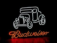 """BUDWEISER BEER BAR CLUB NEON LIGHT SIGN (16"""" X 15"""") - Free Shipping Worldwide  ~ Voltage: 100-240v UL Transformers from NeonPro - Workable in all countries - US, UK, Canada, Japan, Australia, European Countries, & Others.  ~ Payment: Paypal / Credit Cards / Western Union.  ~ Delivery Time: 9-15 days to USA/Canada/Japan/Australia/Asian Countries; 12-18 days to European Countries/South American Countries; via a USPS/Hongkongpost/Canadapost tracking number, directly shipped from manufacturers…"""