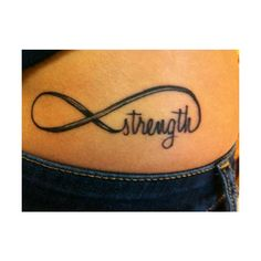 Infinity tattoo With the word Sisters