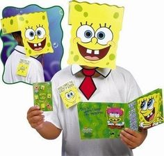 Spongebob Guest of Honor Party Mask - http://moviemasks.co.uk/product-category/sample-product/spongebob-guest-of-honor-party-mask