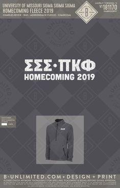 #trisigma #homecomingdesign #greeklife Charles River, Henleys, Greek Clothing, Greek Life, Social Events, Custom Clothes, Missouri, Homecoming, University