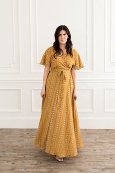 Shabby Apple, Long Kimono, Maxi Wrap Dress, Latest Fashion Trends, Best Sellers, Mustard, Short Sleeve Dresses, Style Inspiration, Healthy Meals