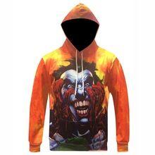 7e784c37940c 5XL Men Women Suicide Squad 3D Hoodies Green Hair Joker Hooded Sweatshirt  Hip Hop Men Character