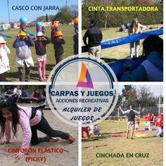 ALQUILER DE JUEGOS PARA EVENTOS Y JORNADAS RECREATIVAS - GRAN VARIEDAD - Visitá nuestra página wwwcarpasyjuegos.com.ar ALQUILER DE JUEGOS > RECREATIVOS - #Juegos #Evento #AlquilerDeJuegos #JuegosRecreativos Sports, Games, Events, Hs Sports, Sport