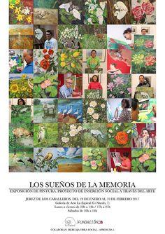 #Exposiciones de #pintura . Jerez de los Caballeros. Galería de Arte La Espiral. www.espiraldearte.com