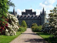 Inveraray Castle; Top Scotland Castles