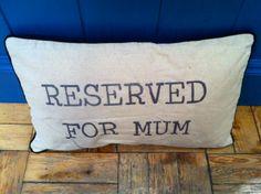 New Mum Cushion - £14.95