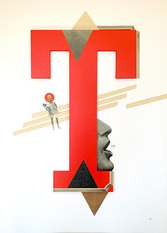 """""""En otro tiempo"""" para la serie tipogramundos  www.marisamaestre.com"""
