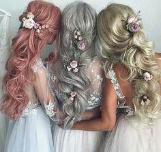20 beautiful wedding hairstyles from Ulyana Aster love hair Bridal Hair Aster beautiful Hair Hairstyles Love Ulyana wedding Pretty Hairstyles, Wedding Hairstyles, Hairstyle Ideas, Fashion Hairstyles, Princess Hairstyles, Long Bridal Hair, Hair Wedding, Gold Wedding, Dream Wedding