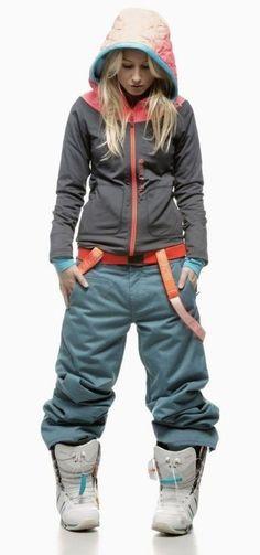 Snowboardowe spodnie damskie Lesja marki BRUNOTTI