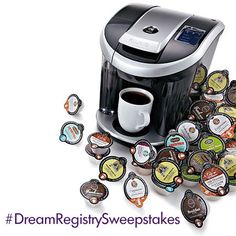 #DreamRegistrySweepstakes  I have one these at work and it is truly a treat! I need one for home