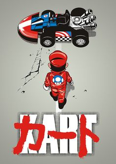 lordwanjavi:   AKIRA KART by Adams Pinto Pokémon Champion Red...