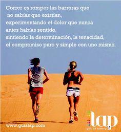 Correr es....