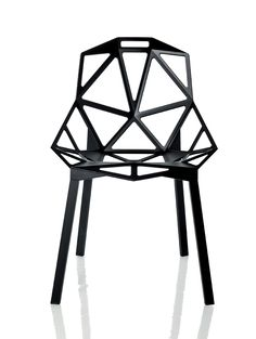 Chair One by Konstantin Grcic (Germany), for Magis (Italy), 2003.