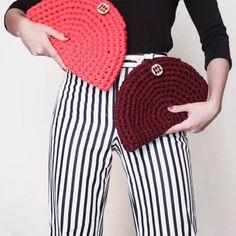 Bug Bag presenta esta primavera nueva colección de bolsos de trapillo, más coloridos que nunca y con cadena