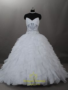 Vampal.com Offers High Quality Wedding Dresses With Chapel Train, Sweetheart Ball Gown Wedding Dresses,Priced At Only USD USD $316.00 (Free Shipping)
