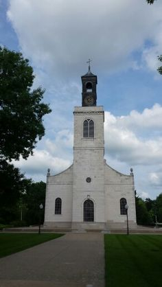 Sir Christopher Wren church transplanted to Westminster College, Fulton, MO at the National Churchill Museum.