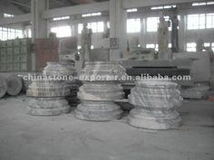 Panel de marmol piedra natural, Diseño para los productos de decoración moldes de columnas pilares, Columnas de marmol precios