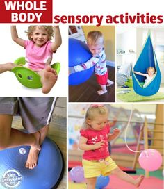sensory activities for whole body awareness