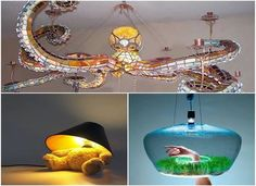 Interesting and creative lamps that you will love it