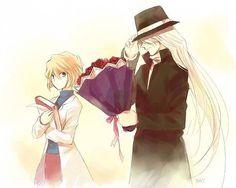 --Gin and Haibara--