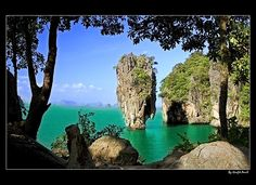 James Bond Island  Phuket, Thailand. Will be there on may 2013! Yeay!