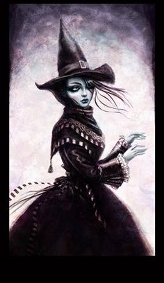 victorian witch