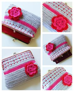 HaakKamer7: Crocheted wink bag