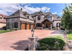 Amber Ridge Drive in Castle Rock CO for 1.4 mil