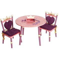 Levels of Discovery Princess Table and Chairs Set