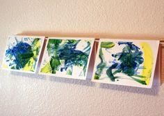Fingerprint art cards