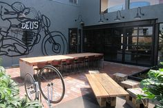 Deus Ex Machina: Patio by Guzzle & Nosh, via Flickr