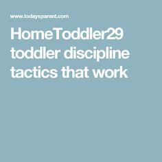 HomeToddler29 toddler discipline tactics that work