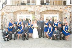 Love the wedding colours.grey and blue (what a massive wedding party! Bridal Party Poses, Wedding Poses, Wedding Shoot, Dream Wedding, Wedding Photography Poses, Wedding Photography Inspiration, Large Bridal Parties, Wedding Parties, Before Wedding