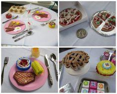 Breakfast, Lunch, Dinner, And Dessert | 39 American Girl Doll DIYs That Won't Break The Bank