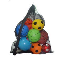 Nylon Basketball Mesh Net Ball Bags