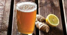As melhores receitas para a Bimby, dicas, enfim ... tudo e mais alguma coisa sobre Bimby :) - Ingredientes: Açucar / Açucar Amarelo / Água / Gengibre / Limão Ginger Beer, Pint Glass, Mugs, Drinks, Tableware, How To Make Beer, Non Alcoholic, Top Recipes, Yellow