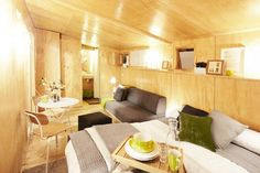 ViVood: Tiny Pop-Up Wooden Home From Spain Comes With Built-in Solar Panels