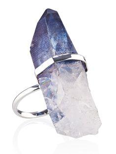 Ocean Dreamer Quartz Ring #ring #jewellery